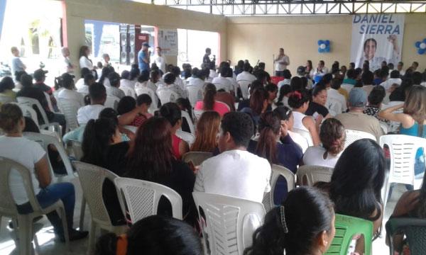 Desde Los Ríos CREO trabaja para fortalecer su estructura territorial del cantón Ventanas