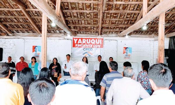 En Quito CREO Pichincha fortalece su estructura parroquial y posesiona su directiva territorial en Yaruquí