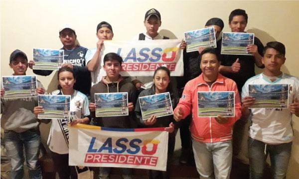 En el cantón Chilla de El Oro se posesiona a la nueva directiva de Jóvenes CREO