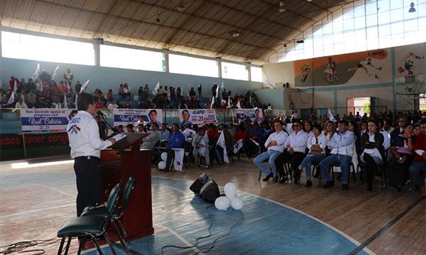 En el cantón Guano CREO Chimborazo fortalece su estructura territorial y sus bases provinciales
