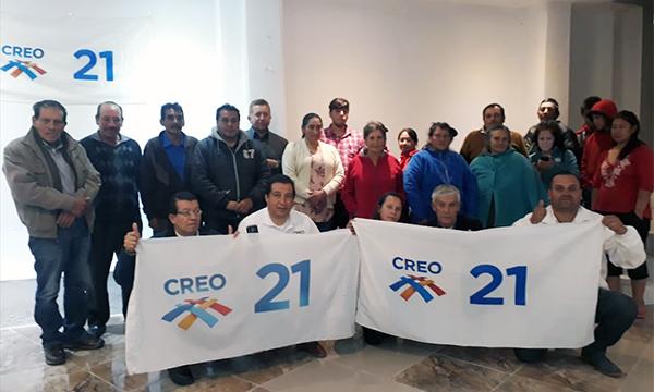 En el cantón Guachapala se conforma la nueva directiva cantonal y se fortalecen las bases de CREO Azuay