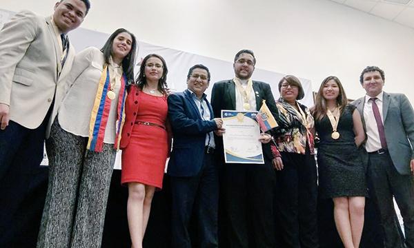 Presidentes de CREO América Latina y CREO Perú recibieron premio de liderazgo internacional