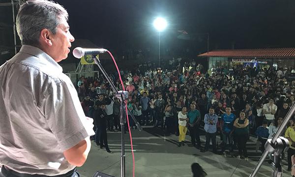 En Sozoranga Loja, Prefecto del Movimiento CREO fortalece la relación con las bases ciudadanas