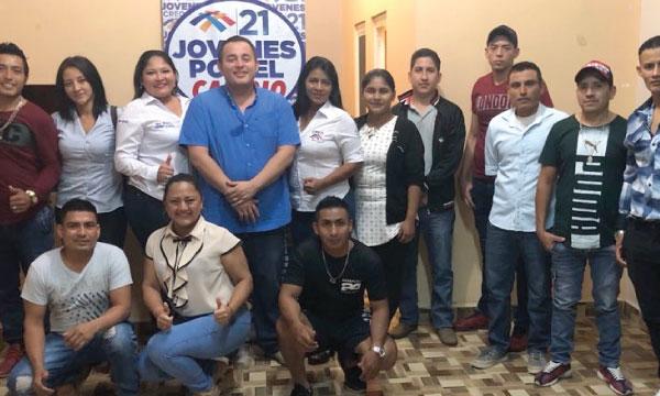 Desde Arenillas el Frente de Jóvenes de El Oro fortalecen la estructura territorial del Movimiento CREO