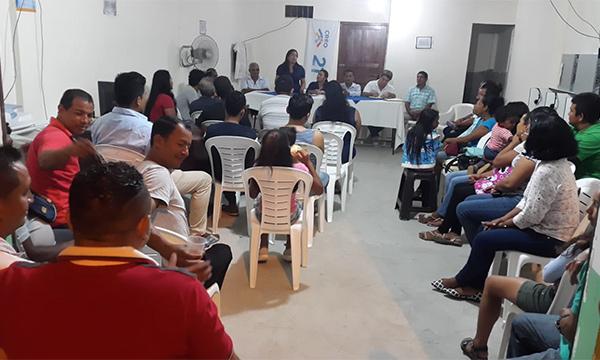 CREO  Atacames posesiona a su nueva Directiva Parroquial de Tonchigüe y continúa su crecimiento territorial