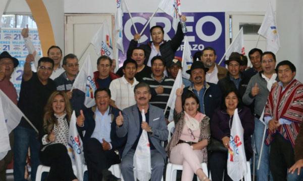 La Directiva Provincial de CREO Chimborazo define su planificación política para el último trimestre del 2018