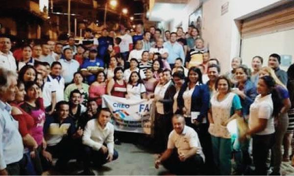 CREO Arenillas fortalece su trabajo territorial con las bases en El Oro
