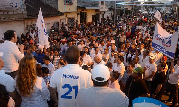 Desde el Batallón del Suburbio CREO rinde homenaje a Guayaquil en la fecha de su Fundación