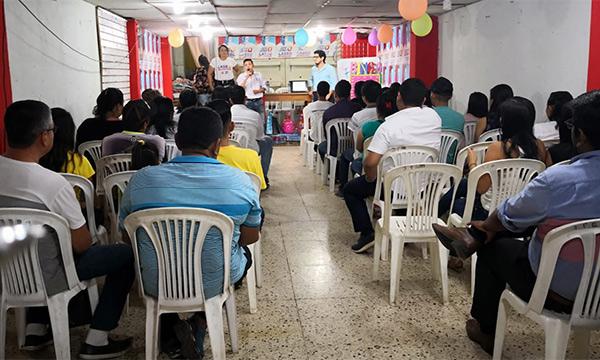 El frente de Jóvenes CREO fortalece su estructura desde Lomas de Sargentillo en la Provincia del Guayas