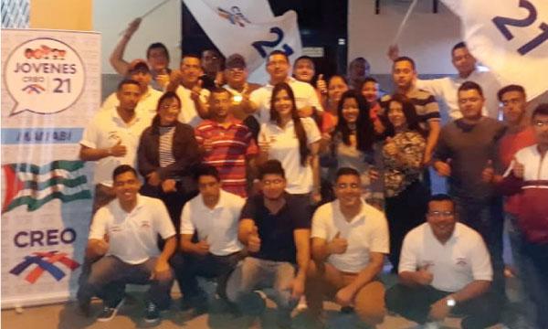 Jóvenes Portoviejo se suma al trabajo político en Manabí para el fortalecimiento de su estructura