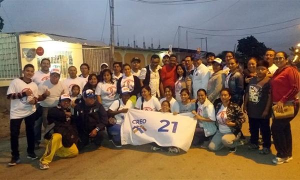 En la ciudadela Virgen del Carmen se fortalece el trabajo barrial del cantón La Libertad de Santa Elena
