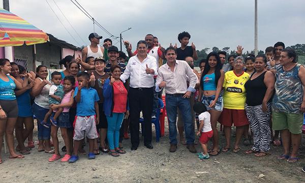 Desde Quevedo continúa el trabajo territorial de CREO dentro de la Parroquia Viva Alfaro