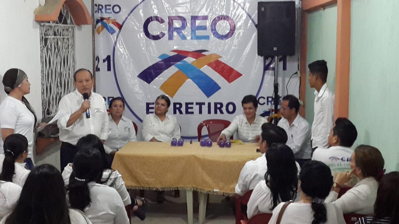 CREO El Oro posesiona a su nueva directiva parroquial de El Retiro para fortalecer la estructura de Machala