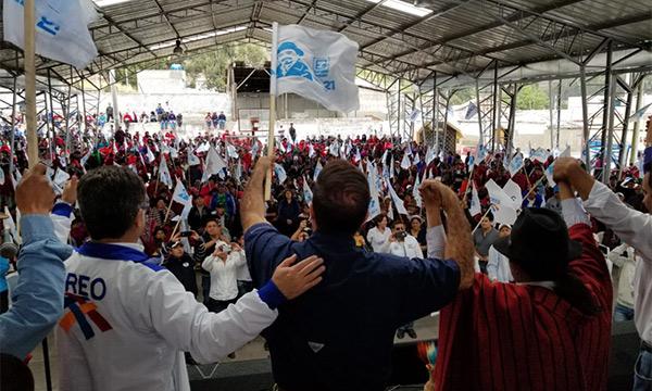 El recorrido nacional de CREO llega al cantón Guamote para fortalecer las bases de Chimborazo
