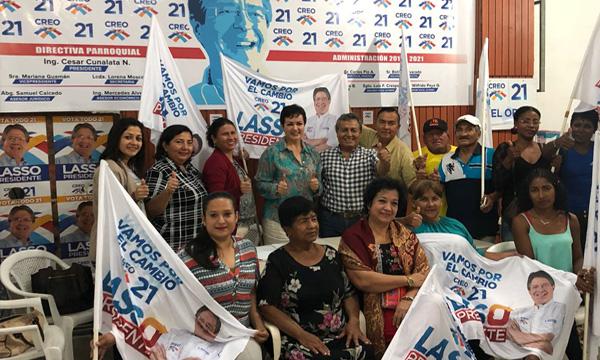Desde Puerto Bolívar continúa el trabajo de su Directiva Parroquial de El Oro con miras al 2019