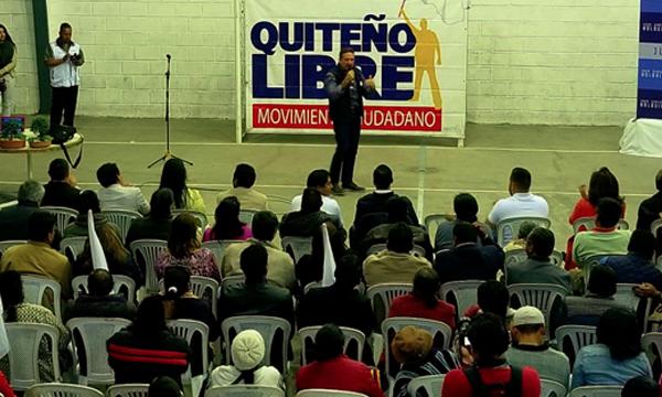 Movimiento CREO fortalece el trabajo con el Colectivo Quiteño Libre desde El Sur de Quito