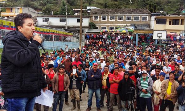 Asambleísta de CREO denuncia corrupción vinculada al Gobierno en concesiones mineras