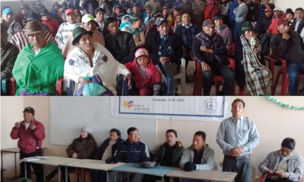 Desde Guangaje CREO Cotopaxi fortalece su estructura territorial parroquial de la provincia