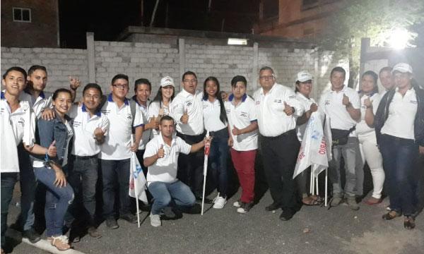 CREO agradece a su nueva Directiva de Jóvenes en Jaramijó que se unen al trabajo territorial de Manabí