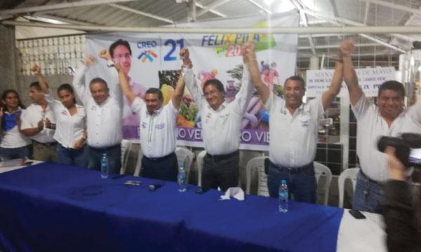 Desde el cantón 24 de Mayo CREO continúa el impulso de candidaturas frente al 2019