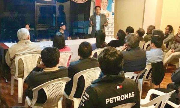 CREO fortalece su trabajo político en taller estratégico con sus dirigentes territoriales de Tungurahua