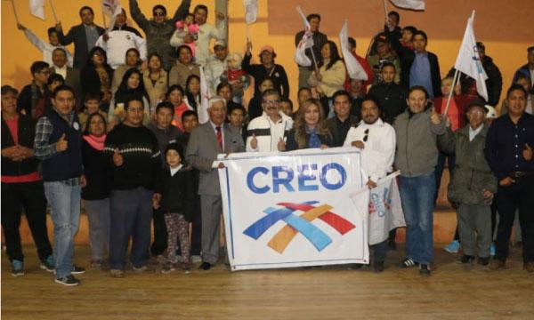 CREO Chimborazo trabaja con directiva parroquial de Licán para fortalecer su estructura territorial