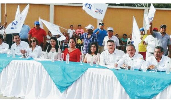 En el cantón Bolívar CREO impulsa sus candidaturas seccionales y se fortalece frente al 2019
