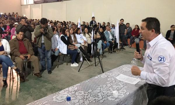 CREO Azuay impulsa sus candidaturas desde Chordeleg y fortalece su estructura