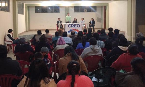Parroquia Cubujíes de Chimborazo organiza su estructura para las elecciones seccionales del 2019