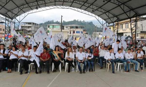 En Cumandá CREO Chimborazo presenta a su candidato a la alcaldía del cantón y acelera su trabajo territorial