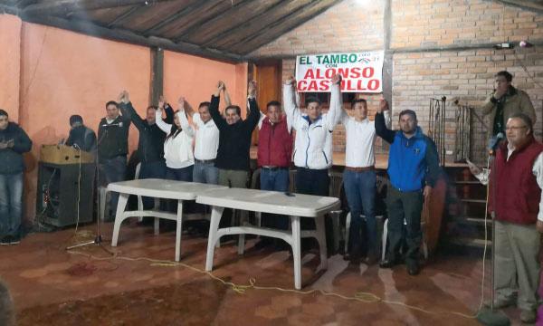 Desde el cantón El Tambo CREO Cañar recorre la provincia y fortalece su estructura