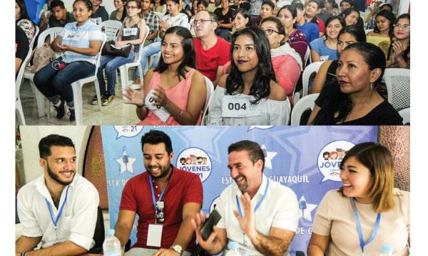 Jóvenes CREO fortalecen su trabajo social y desarrollan con éxito la primera fase de «La Estrella de Guayaquil»