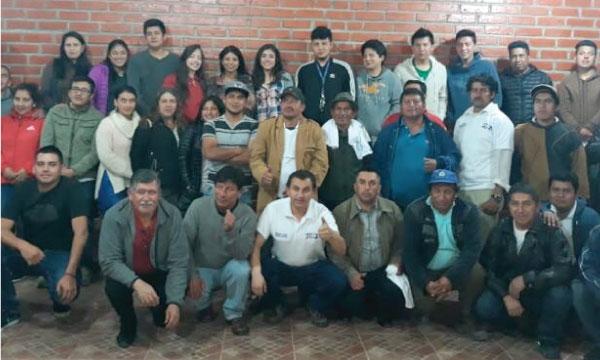 CREO Azuay fortalece su estructura y conforma Directiva del Frente de Jóvenes del cantón Chordeleg