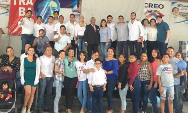 Jóvenes CREO Durán cumple con su jornada de capacitación para el fortalecimiento de sus bases