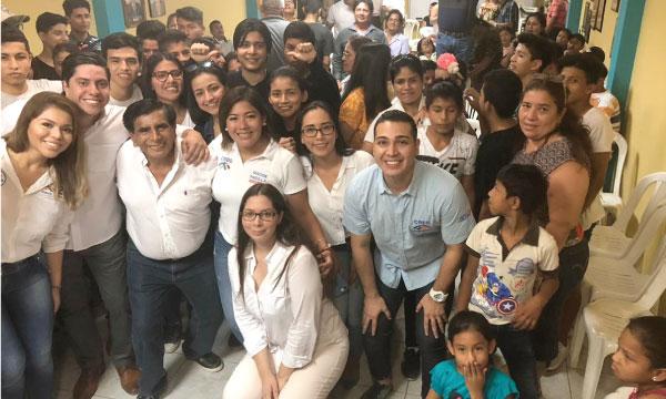 Desde Pedro Cabo el Frente de Jóvenes continúan con su tarea de trabajo y fortalecimiento territorial