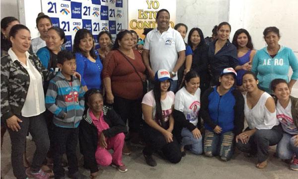 El Frente de Mujeres de La Libertad trabaja en las bases para fortalecer la estructura de Santa Elena