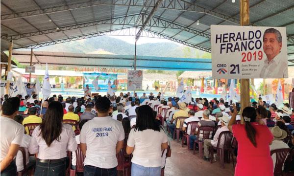 Desde Santa Ana Manabí el Movimiento CREO proclama a su candidato para las elecciones seccionales