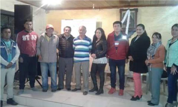 En el Barrio Santa Marianita del cantón Paltas CREO fortalece sus bases ciudadanas de Loja