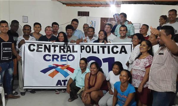 Desde el cantón Tonchigüe CREO inaugura su nueva central de fortalecimiento territorial para Esmeraldas
