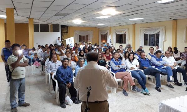 Desde Zaruma CREO continúa su trabajo territorial y presenta su propuesta electoral para el 2019