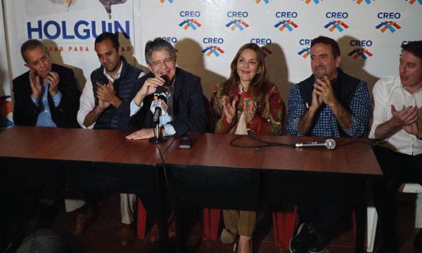Lasso regresa a Quito para continuar su trabajo de fortalecimiento para el 2019