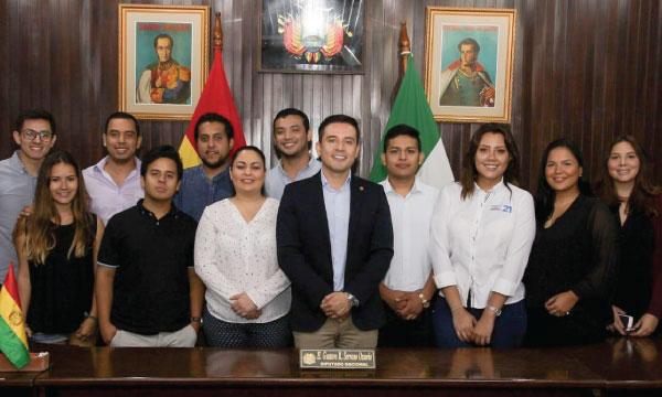 CREO participa en el programa de intercambio político de la Unión de Partidos Latinoamericanos
