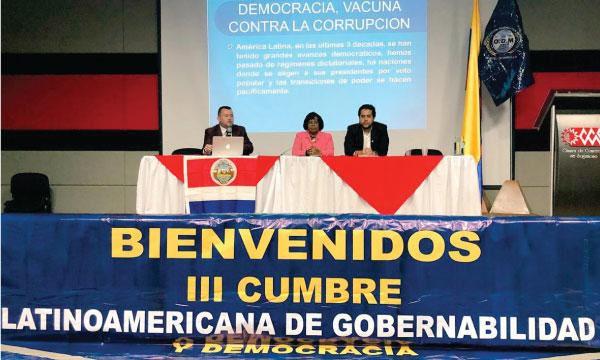 CREO América Latina presente en la Cumbre Latinoamericana de Gobernanza y Democracia en Colombia