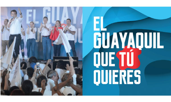CREO presenta propuesta electoral de cambio y desarrollo para la Alcaldía de Guayaquil