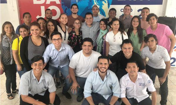La Dirigencia del Frente de Jóvenes CREO Guayaquil cumple con su jornada de capacitación política