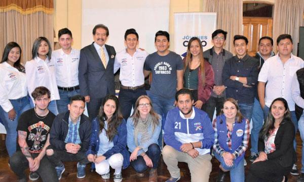 CREO Pichincha se fortalece y posesiona a su nueva directiva cantonal del Frente de Jóvenes en Rumiñahui