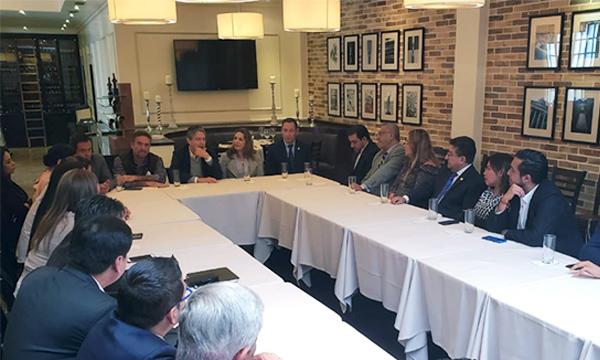 Lasso llega a Quito para trabajar con el bloque legislativo y planificar acciones