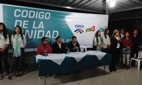 CREO Chimborazo acelera su trabajo ciudadano para fortalecer la propuesta de cambio 2019