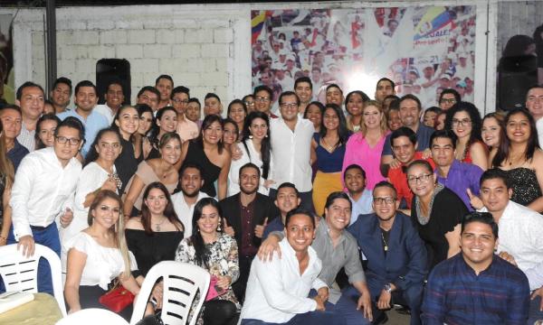 En Guayaquil la Dirigencia del Frente de Jóvenes CREO acelera su trabajo para las seccionales