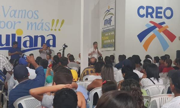 CREO Zapotillo presenta su propuesta electoral de desarrollo con miras al 2019